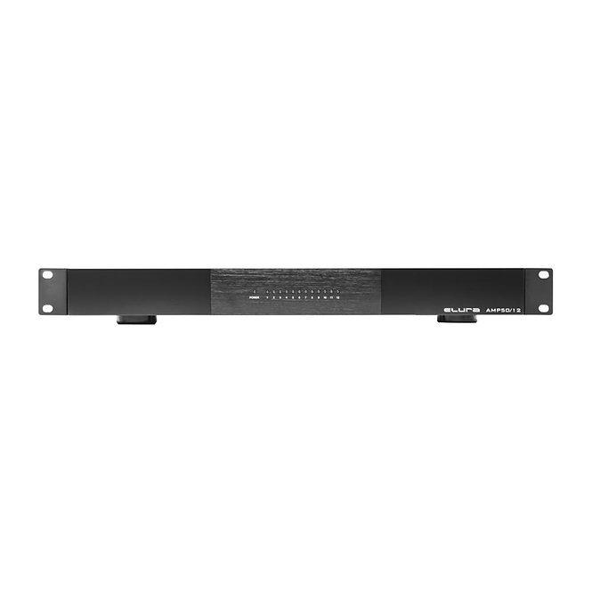 Elura AMP50/12 12-Channel 50-Watt Slim 1U Power Amplifier