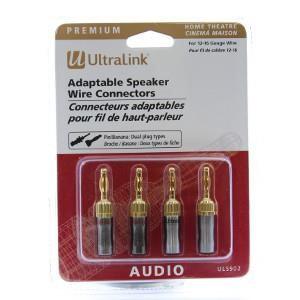 Ultralink Adaptable Speaker Wire Connectors