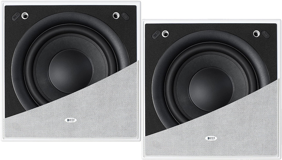KEF Ci200QSb-THX In-Wall Subwoofer