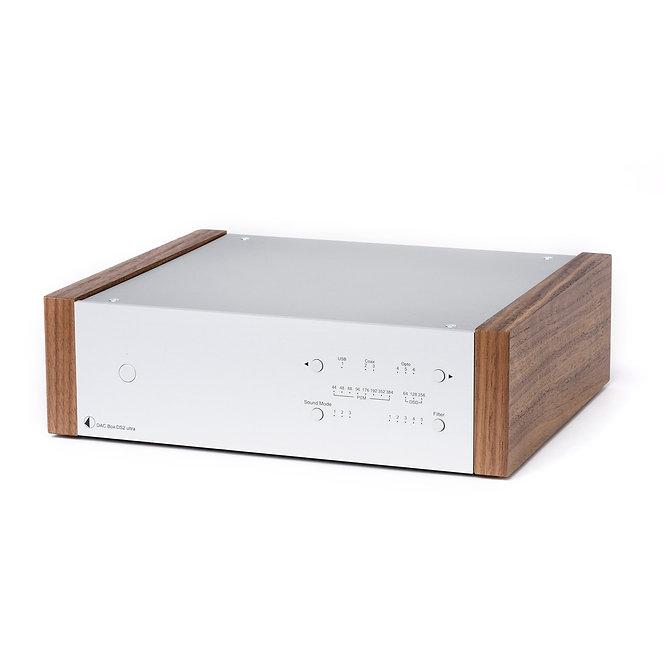 PRO-JECT DAC BOX DS2 ULTRA SILVER WALNUT U