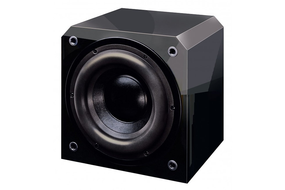 """Sunfire Single 10"""" 1000w Powered Subwoofer - Black Lacquer HRS10"""