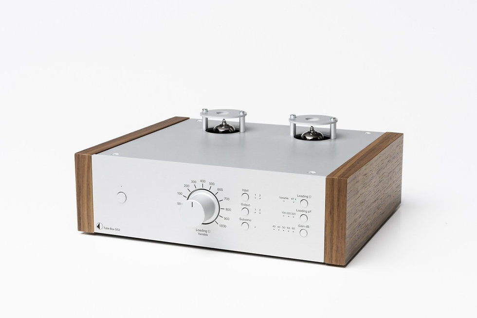 Pro-Ject Tube Box DS2 Silver Walnut