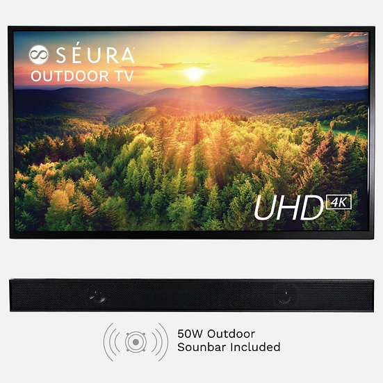 "Seura 65"" Shade Series With Soundbar"