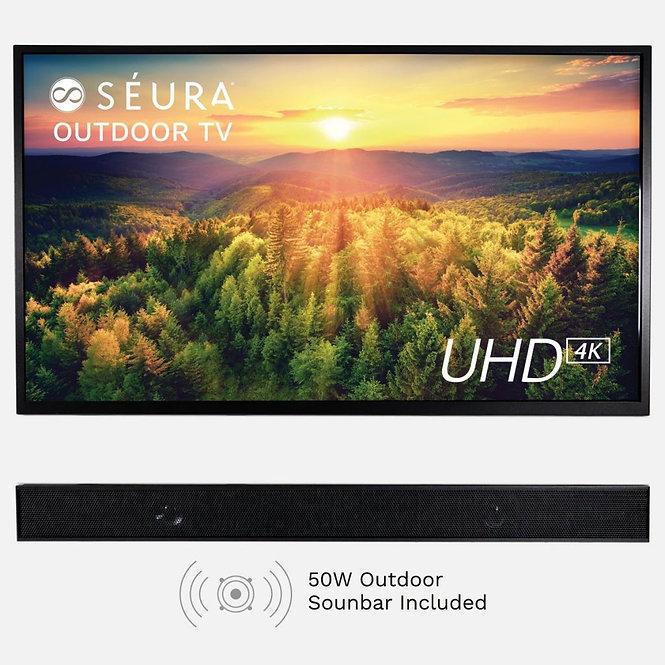 "Seura 55"" Shade Series With Soundbar"