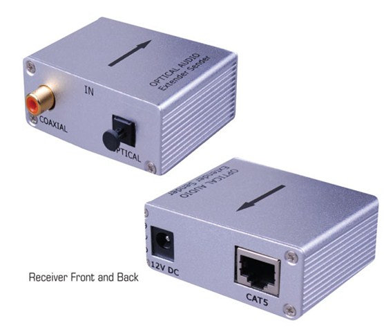 Vanco Digital Audio over Cat5e/Cat6 Cable Extender-280531