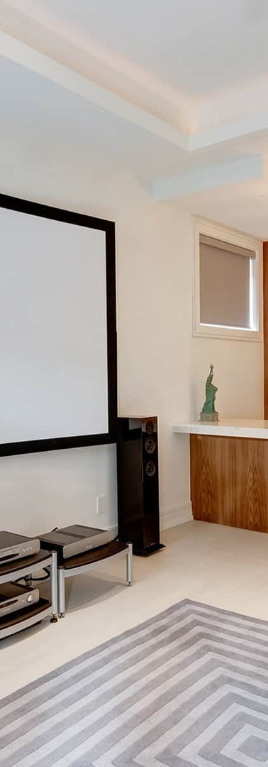 """120"""" Screen Projector & Two Channel Audio System"""