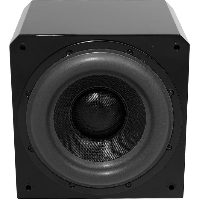 """Sunfire Single 12"""" 1000w Powered Subwoofer - Black Lacquer HRS12"""