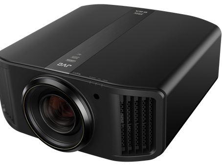 JVC Pro Series 8K e-shift Home Theater Projector & Is Capable Of 8192 x 4320 Image Resolution.