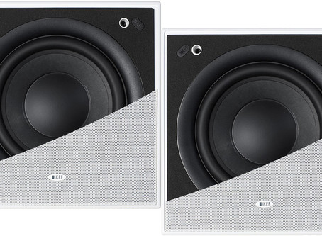 KEF Ci200QSb-THX In-Wall Subwoofer  ( New ) - Pair