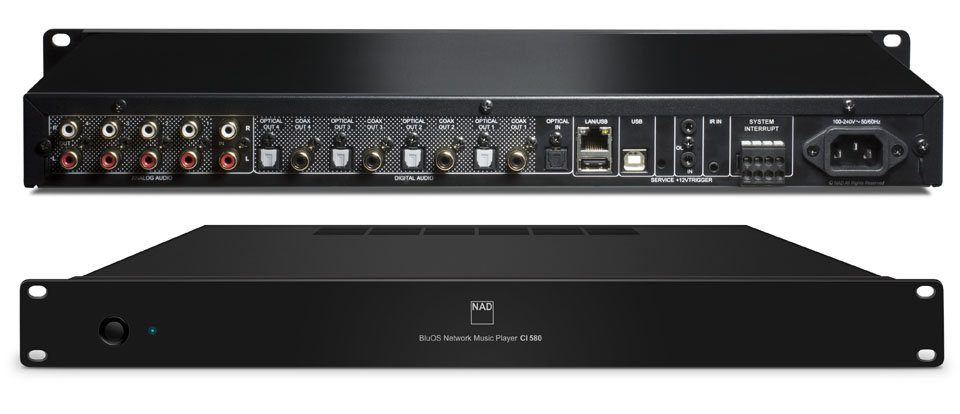 NAD - CI 580 V2 BluOS Network Music Player