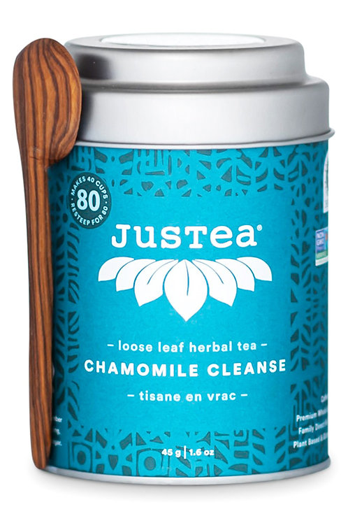 JusTea® Chamomile Cleanse Loose Leaf African Tea