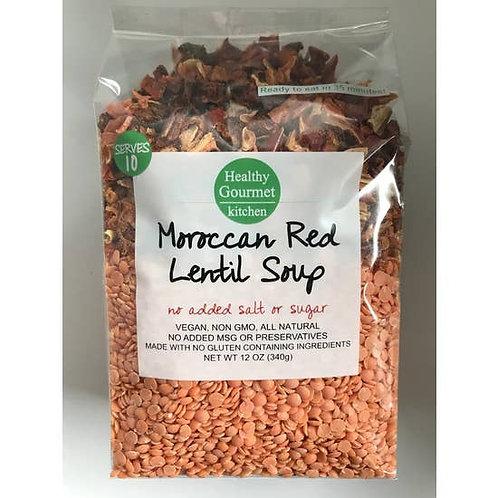Moroccan Red Lentil Gourmet Soup Mix