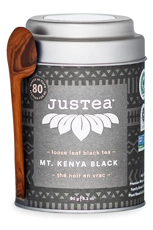 JusTea® Mt. Kenya Black Loose Leaf African Tea