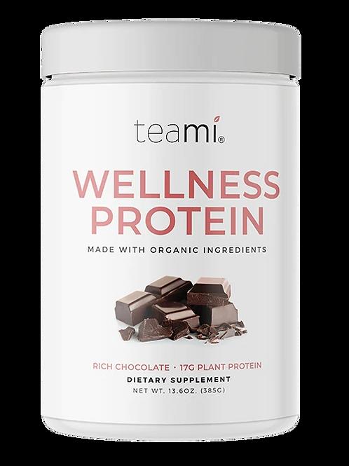 Organic Plant-Based Wellness Protein, Rich Chocolate