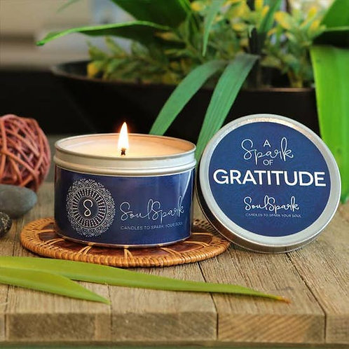 Spark of Gratitude Candle