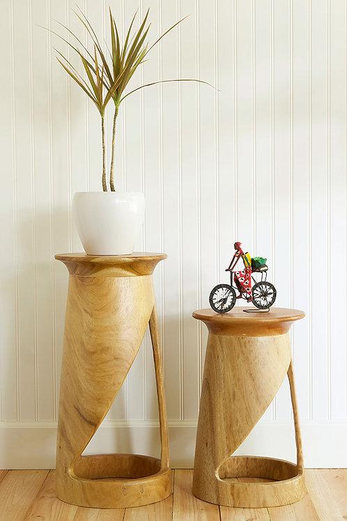 """18"""" Tweneboa Wood Portal Table"""