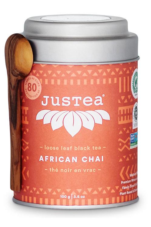 JusTea® African Chai Loose Leaf Tea