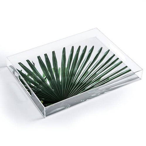 Palm Leaves 13 Small Acrylic Tray