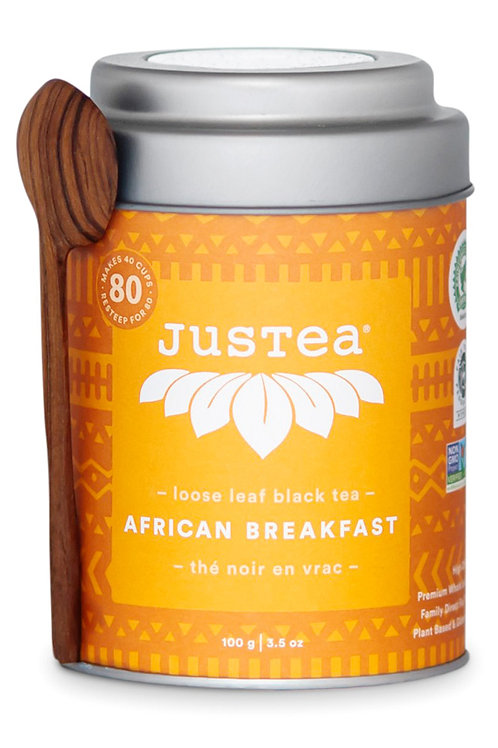 JusTea® African Breakfast Loose Leaf Tea