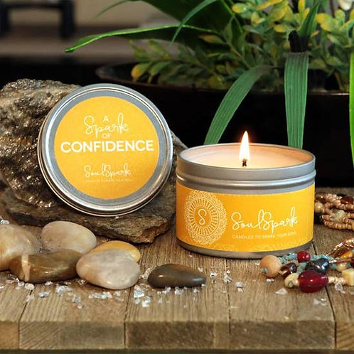 Spark of Confidence Candle