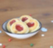Marzipanplätzchen, Butterplätzchen, Kinderrezept Plätzchen