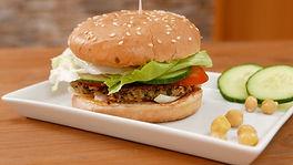 Quinoa Burger, Vegane Burgerpatties
