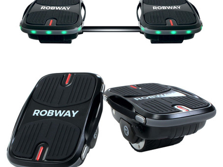 Produkt Review: Robway 2in1 Hovershoes & Hoverboard
