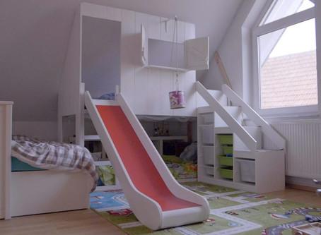 DIY: Kinderhochbett mit dem IKEA KURA HACK selber bauen