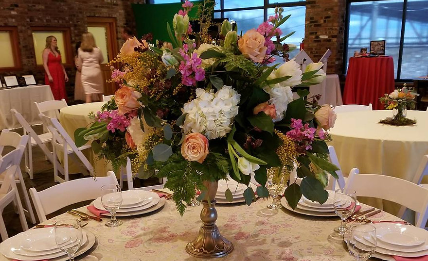 Reception Flowers - Shady Vines Floral Co