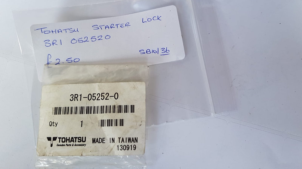 Tohatsu Starter Lock 3R1-05252-0