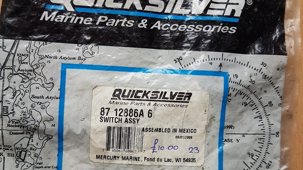 Quicksilver Switch Assy 87-12886A 6
