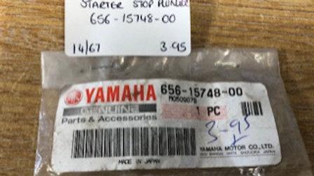 Yamaha Starter Stop Plunger 656-15748-00