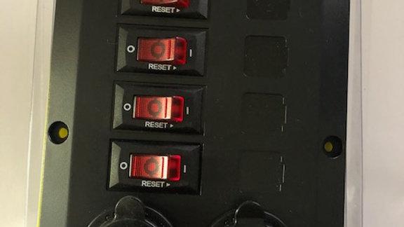 Belowdeck Circuit Breaker Panel 4351