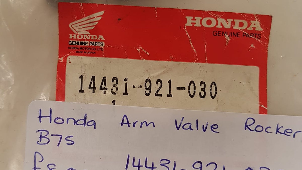 Honda Arm Valve Rocker 14431-921-030