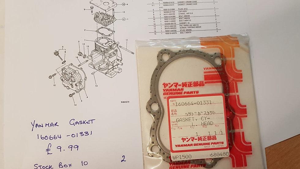 Yanmar Cylinder Head Gasket 160664-01331