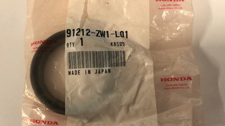 Honda Oil Seal 91212-ZW-LO1