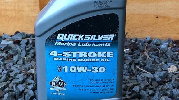 Quicksilver 4-Stroke Marine Engine Oil 10W-30 1Ltr