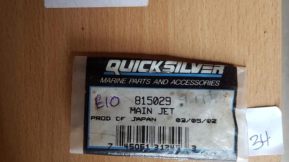 Quicksilver Main Jet 815029