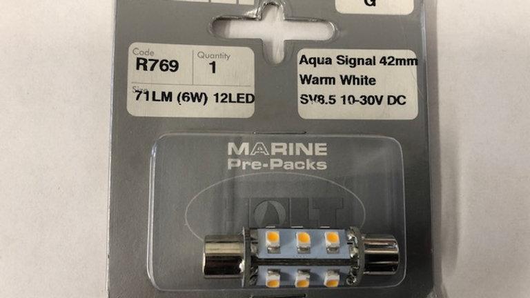Aqua signal festoon bulb