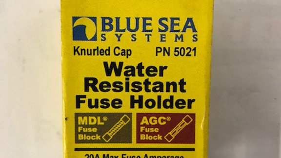 Water Resistant Fuse Holder