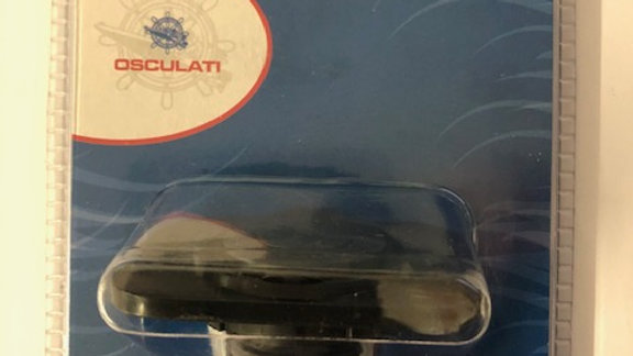Osculati Double USB - Black