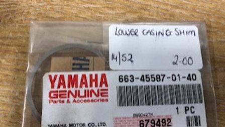 Yamaha Lower Casing Shim 663-45587-01-40