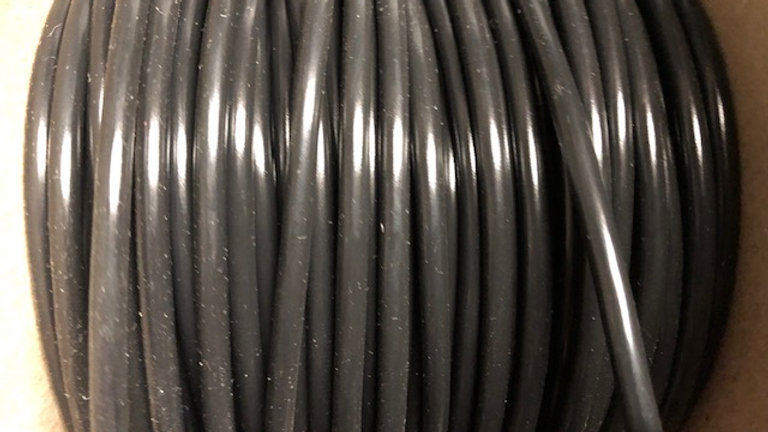 6mm Black Thin Wall Cable