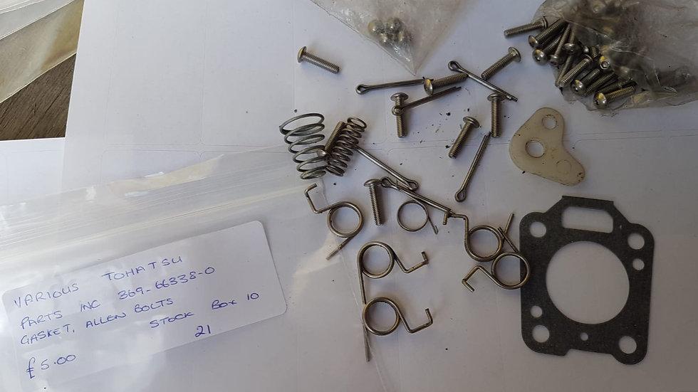 Tohatsu Various Parts