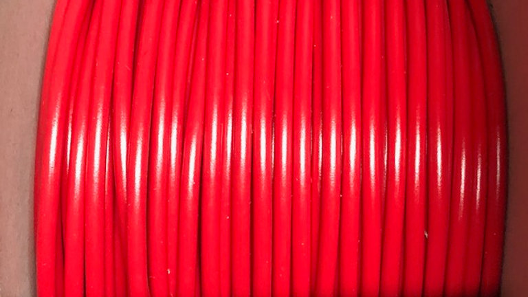 6mm Red Thin Wall Cable