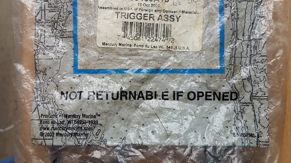 Quicksilver Trigger Assy 98450A10