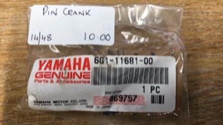 Yamaha Pin Crank 6G1-11681-00