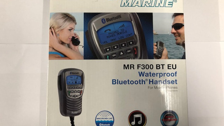 Cobra Marine MR F300 BT EU Waterproof Bluetooth Handset