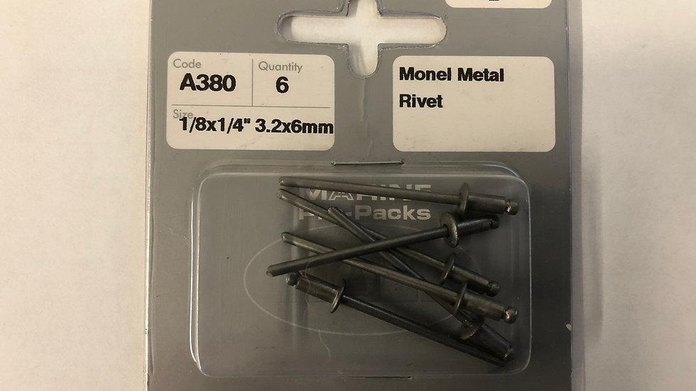 Monel (nickel copper) Rivets