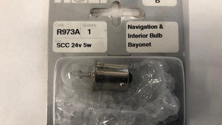 Navigation and interior bulb